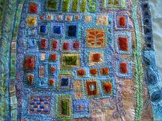 Byzantium by Jackie Cardy http://dogdaisychains.blogspot.com/ http://www.etsy.com/shop/dogdaisy92 #textile_art #embroidery #stitching