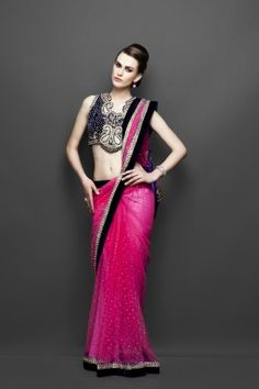 Artistic touch in saree & particularly blouse design