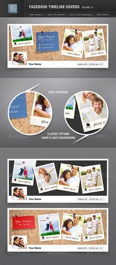 Facebook Timeline Covers | Volume 10 - GraphicRiver Item for Sale
