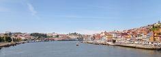 PORTO - Panorama - Cais da Ribeira (Portogallo)