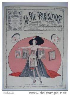 Georges Léonnec (1881 – 1940). La Vie Parisienne, 27 Avril 1912. [Pinned 16-vii-2015]