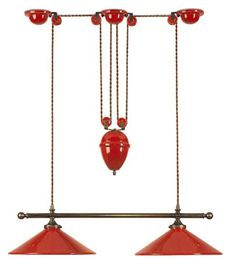 French Country Kitchen Trapeze Pendant