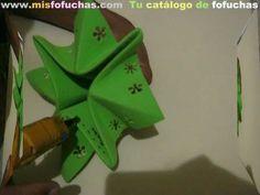 Arbolito de navidad en foami - Tutorial Paso a paso - Técnicas origami