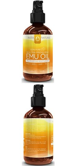 Emu oil for hair InstaNatural 100% Pure Emu Oil - For Hair Growth, Skin, Face, Stretch Marks, Scars & More - Great for After You Shampoo! - The Best Natural Cream for Eczema, Muscle & Joint Pain & Nail Beauty - 4 OZ $20.87