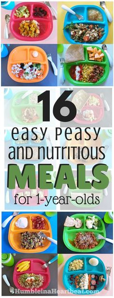 Need to get dinner on the table fast? These 16 simple meals for 1 year old and family are nutritious and kid-approved! Get the meal ideas here.