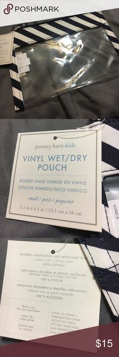 """Brand new Pottery Barn wet/set pouch Brand new, measurements are 9 1/2""""7""""1 Pottery Barn Bags Cosmetic Bags & Cases"""
