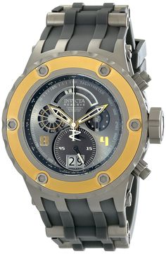 Invicta Men's 16246 Subaqua Analog Display Swiss Quartz Grey Watch