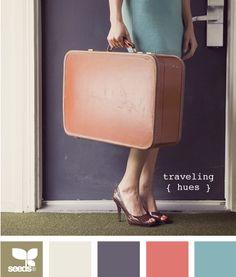 traveling hues.