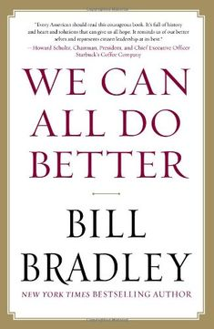 A wise and profound man,he should have made it to the Presidency.Read his first book,this is on my list!