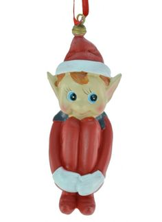 Retro Elf Ornament Pixie, Elf, Christmas Ornaments, Retro, Holiday Decor, Collection, Home Decor, Decoration Home, Room Decor