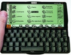 Aww, my flatmate had one of these. I had a Palm. We argued about which would last...