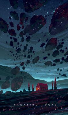 Die Kunst der Animation - New Ideas Art And Illustration, Design Illustrations, Fantasy Kunst, Environment Concept Art, Fantasy Landscape, Environmental Art, Art Plastique, Oeuvre D'art, Pixel Art