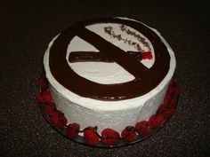 No Smoking Cake cakepins.com