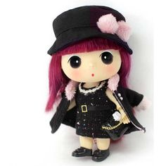 Korea Brand Ddung Cute Lovely Kawaii Baby Doll 7in Modern Classic #Ddung #DollswithClothingAccessories