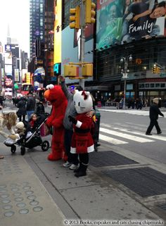 Hello Kitty Claus in New York | Books, Cupcakes, and Cats Chasing Chipmunks