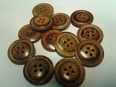 Thin Rim-Belly Center (4206- Assorted Sizes) – WoodButtons