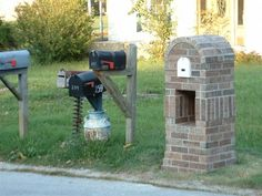 brick mailbox designs ideas