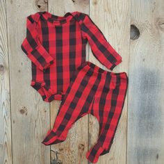 Plaid Onesie and Leggings Set Black and Red Take Home Outfit Hand Photos Luxury Stretchy  Knit Newborn Take Home Clothing - 2t by Cheerfulivy on Etsy https://www.etsy.com/listing/294091141/plaid-onesie-and-leggings-set-black-and