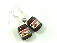 Orecchini+barattoli+di+Nutella+in+fimo+di+Ciondolandia+Bijoux+su+DaWanda.com
