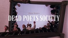 Movies And Series, Movies And Tv Shows, Iconic Movies, Good Movies, Peter Weir, Oh Captain My Captain, I Love Cinema, Dead Poets Society, Film Stills