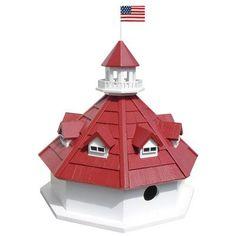 Home Bazaar Annapolis Lighthouse Birdhouse & Reviews   Wayfair