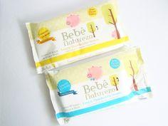 lenços umedecidos Bebê Natureza - embalagem AMARELA (sem perfume)
