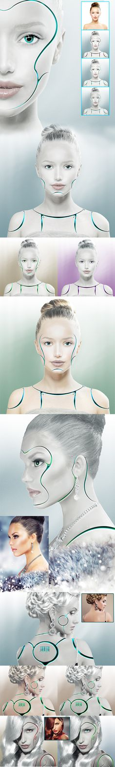Synthetic Human Action - Photo Effects Actions