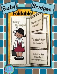 ruby bridges research Early life ruby bridges was born in tylertown, mississippi, to abon and lucille bridges when she was four years old, the family relocated to new orleans, louisiana.