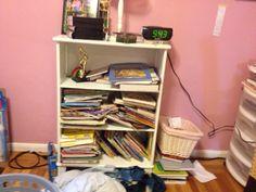 Helping kids declutter their rooms.