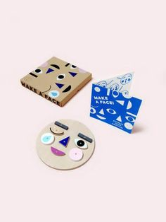 Moon Picnic Toy Make a face - Zoen voor Gust