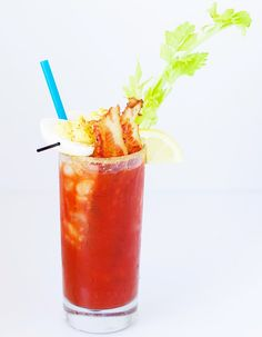 Bacon and Eggs Bloody Mary!