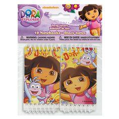 Dora The Explorer Mini Notebook Party Favors, 10ct, Novelty Games - Amazon Canada
