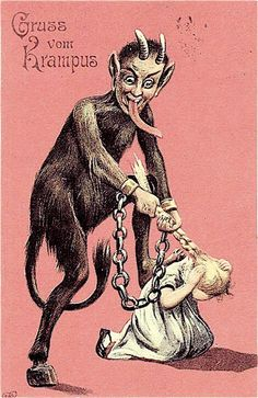 art of the beautiful-grotesque: Gruss vom Krampus II