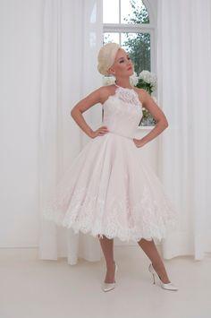 281 Best Tea Length   Short Wedding Dresses images in 2019  6b58e2f2cb91