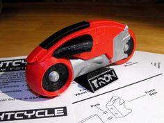 3D printed Tron Lightcycle.