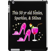 iPad Case/Skin http://www.redbubble.com/people/jlporiginals/collections/370882-50th-birthday #50thbirthday #50yearsold #Happy50thbirthday #50thbirthdaygift #50andfabulous #turning50  #happy50th