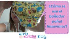 ¿Quieres saber cómo se usan los #bañadorespañales de #Imsevimse? Pues estás a un sólo click--> http://wp.me/p4b6sj-aB #maríapañalesymás #blog #bañadorpañal #bañadorbebé #matronatación