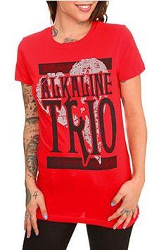 Alkaline Trio Big Heart Girls T-Shirt @ Hot Topic, $26.50