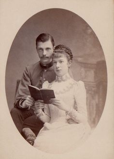 shewhoworshipscarlin:  Archduchess Marie Valeris and husband Archduke Franz Salvator of Austria-Tuscany, 1890s.   Daughter of Empress Elisabeth(Sissi)of Austria