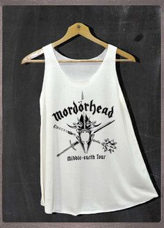 Le Seigneur de l'anneau Mordorhead drôle Motorhead par FourthSeason, $14.99
