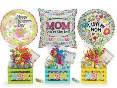 Year-Round Mother's Day Gifts Happy Mothers Day Mom, Mom Day, Mother Day Gifts, Mothers Day Baskets, Mother's Day Gift Baskets, Balloon Gift, Balloon Box, Personalized Mother's Day Gifts, Diy Gifts