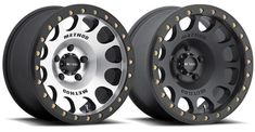 Introducing the all-new Method Beadlock. Available in matte black or matte black with machined face, these wheels are the perfect Jeep & Raptor beadlock. Chevy Trucks Older, Old Ford Trucks, Lifted Chevy Trucks, Rims And Tires, Rims For Cars, Wheels And Tires, Truck Rims, Truck Wheels, 4x4 Wheels