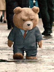 a movie about a foul mouthed drunk prostitute chasing teddy bear earned million dollars over the weekend, i am definitely too old for this to be true, help please John Bennett, Ted Bear, Teddy Pictures, Office Movie, Love Bear, Cute Teddy Bears, Kermit, Music Tv, First They Came
