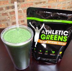 Best Smoothie Ingredients - Athletic Greens