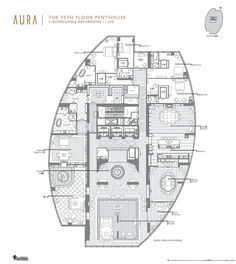 Penthouse Floor Plans | spectacular Residential Tower with views overlooking Toronto ...