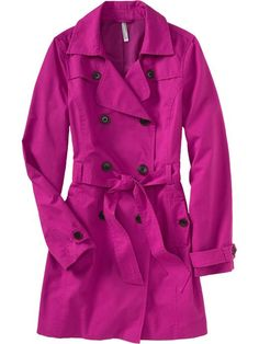 a bright trench