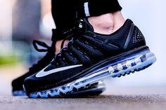 Nike Air Max 2016 'Black/Dark Grey' (via Kicks-daily.com)