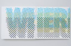 Project Printed Matter - Evelin Kasikov – CMYK embroidery and Typographic Design – London