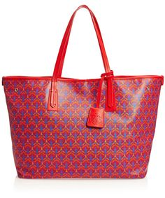 Liberty London Red Liberty London Marlborough Tote Bag