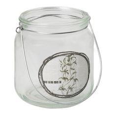 Kerzenhalter - Glasteelichthalter Botanical - 798.290.0